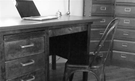 bureau industriel occasion strafor meuble toujours