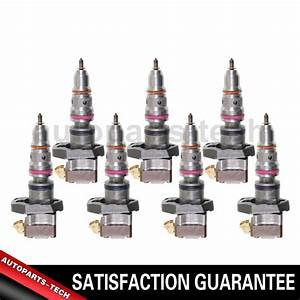 7x Standard Ignition Fuel Injector For Ford E
