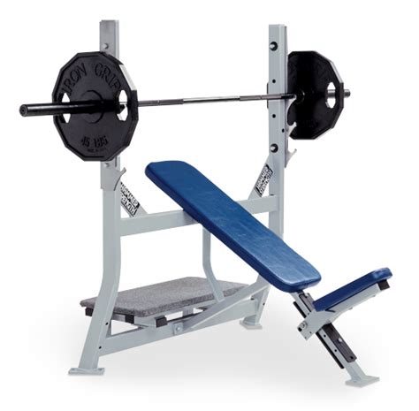 Hammer Strength Olympic Stations Olympic Incline Bench