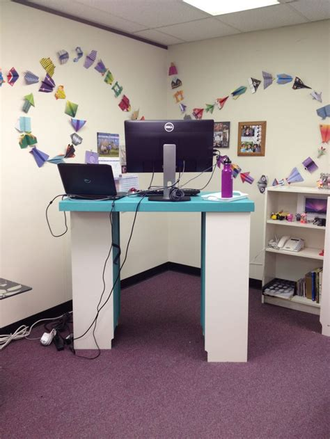 diy standing desk classroom spanish word for teacher s desk best home design 2018