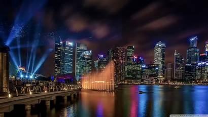 Singapore Marina 4k Bay Sands Hotel Dubai