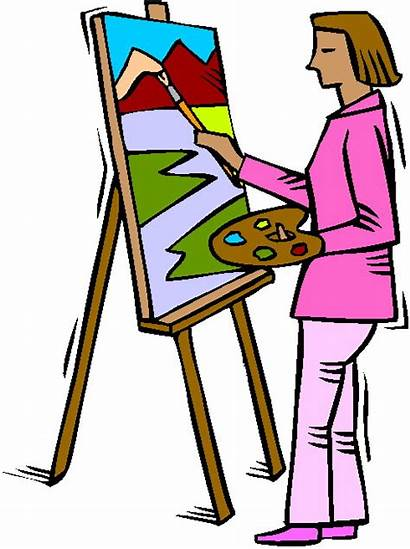 Clipart Paintings Clip Artist Cliparts Library