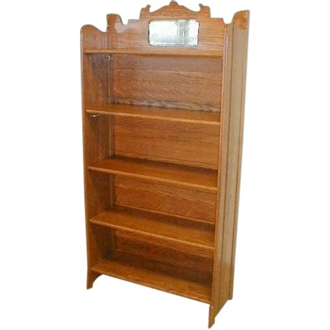 Fold Up Bookcase by Oak Fold Up Bookcase By Larkin Furniture Company From