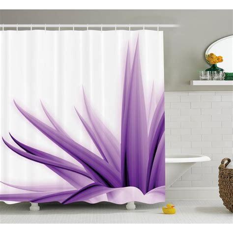 Purple Flower Shower Curtain by Best 25 Purple Shower Curtains Ideas On