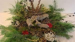 Advent Deko Für Draußen : weihnachtsdekoration adventsgesteck weihnachtsgesteck aus naturmaterialien weihnachten ~ Orissabook.com Haus und Dekorationen