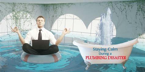 stay calm   plumbing emergency ben franklin