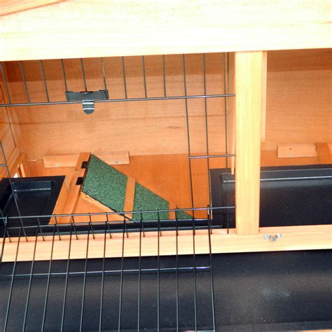 frame wood wooden rabbit hutch small animal house