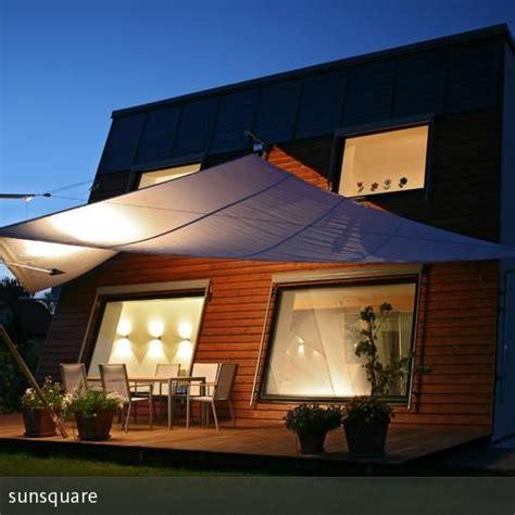 alternative zum sonnenschirm aufrollbares ma 223 geschneidertes sonnensegel sunsquare garten terrasse sonnensegel