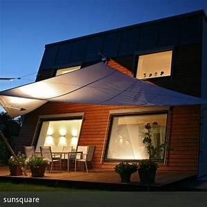 Alternative Zum Sonnenschirm : aufrollbares ma geschneidertes sonnensegel von sunsquare garten terrasse sonnensegel ~ Bigdaddyawards.com Haus und Dekorationen