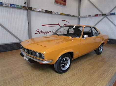 Opel For Sale by For Sale Opel Manta 1900 S 1975 Offered For Gbp 13 981