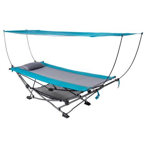 Canopy Hammock by Folding Hammock With Removable Canopy Ebay
