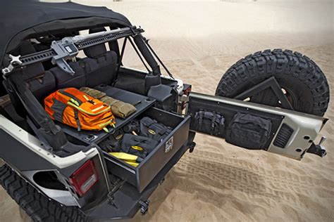jeep storage vault  smittybilt hiconsumption