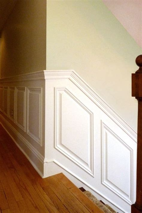 How To Install Raised Panel Wainscoting by Custom Raised Panel Wainscoting By Stuart Home Improvement