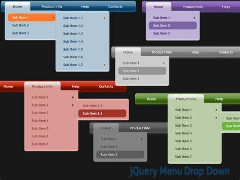 programming jquery menu drop  style  freeware create drop  menu  beautiful