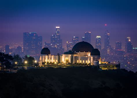 Los Angeles At Night Wallpaper Griffith Observatory Review Tips Travel Caffeine