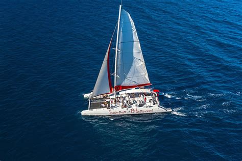 Excursion Catamaran Brac by Home Summer Blues Day Trips From Split To Hvar And Brac