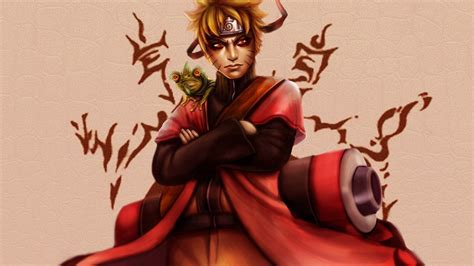 Naruto, Sage Mode, Uzumaki Naruto Hd Wallpaper