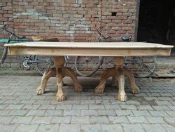 wooden dining table  saharanpur  bl