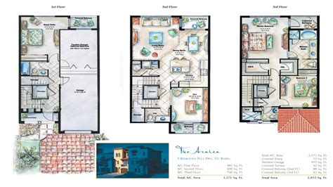 3 floor plans 3 townhouse floor plans target