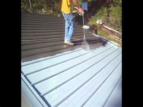 metal roof restoration  nutech paintavi youtube