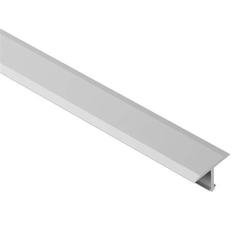 schluter reno  satin anodized aluminum     ft