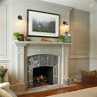 excellent modern fireplace mantel Design Fireplace Mantel. Fabulous Stone Great Scheme Color ...