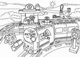 Coloring Lego Train Pages Station Printable Duplo Airplane Caboose Trains Drawing Colouring 4kids Police Tony Firemen Adult Hawk Getdrawings Getcoloringpages sketch template
