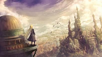 Fantasy Anime Wallpapers Artwork Landscape 4k Backgrounds