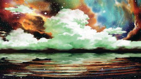 anime nature clouds water wallpapers hd desktop