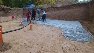 Podkladní beton pod základovou desku
