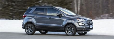 2018 Ford Ecosport Suv Is A Pint-sized Delight
