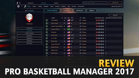 quick review pro basketball manager  youtube