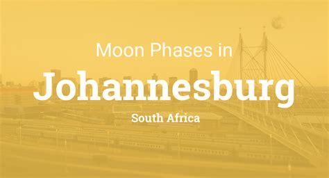 moon phases  lunar calendar  johannesburg south