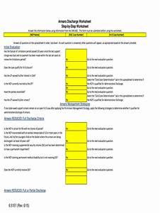 Washington State Child Support Worksheet Instructions