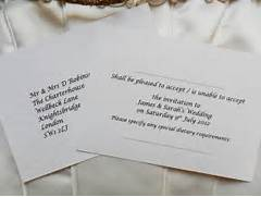 RSVP Cards Reply Cards Menu Reply Cards And Information Cards Invitation Wording To Miss And Wedding On Pinterest In Law Put On Her RSVP Card Kelsey I Liked Your Response Too Fun RSVP Wording Weddingbee