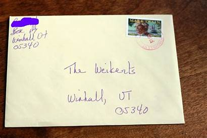 Mail Letter Given Any Moment There