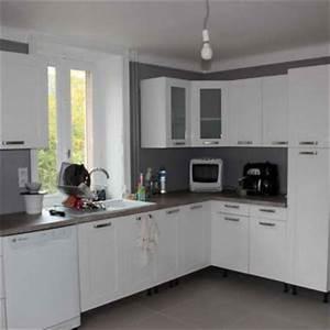 quelle couleur avec une cuisine blanche 1 couleur With quelle couleur avec une cuisine blanche
