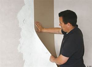 un isolant thermique qui se pose comme du papier peint With pose de papier a peindre