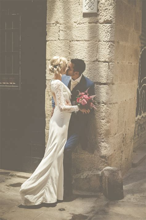 An Intimate And Luxurious Destination Wedding In Barcelona