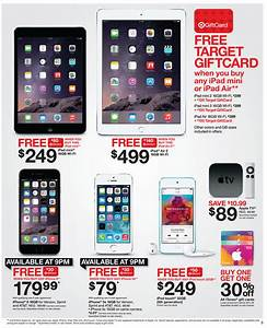 Target Black Friday Preview IPad Air 2 W 140 GC 499