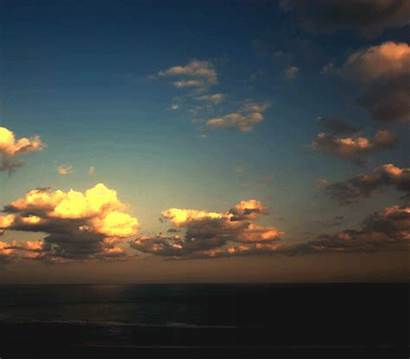 Clouds Moving Oceam Cloud