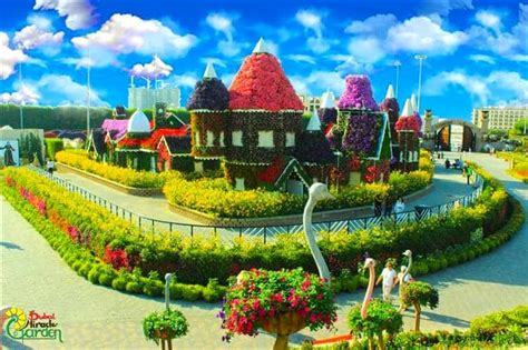 amazing facts  dubai miracle garden