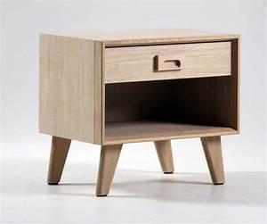Table De Chevet Wengé : chevet scandinave 1 tiroir brin d 39 ouest ~ Teatrodelosmanantiales.com Idées de Décoration