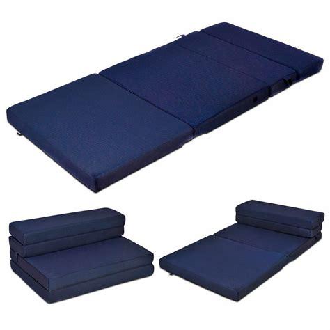 futon folding bed size 4 quot quart fold foam folding mattress futon