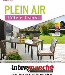 Beautiful salon de jardin en plastique intermarche gallery for Salon de jardin intermarche