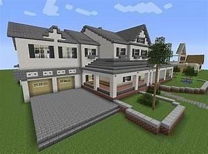 Minecraft Modern House | Minecraft | Pinterest | A well ...