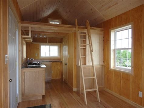 father  son create amazing  sq ft tiny cabin  simple living