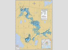 Tiger Cat Flowage Wall Map