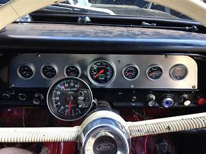 Custom Dash Facia Insert 70 F100 4x4 Autometer Sports Comp