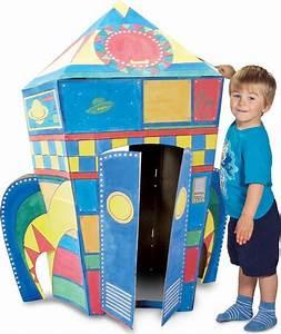 Cabane En Carton À Colorier : cabane en carton colorier fus e chez les enfants ~ Melissatoandfro.com Idées de Décoration